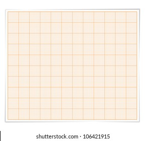 Graph paper, vector eps10 illustration