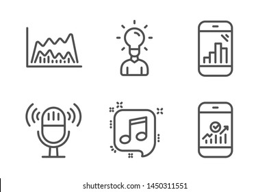 Image Graph Music Notes Images, Stock Photos & Vectors