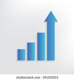 Graph symbol design,clean vector