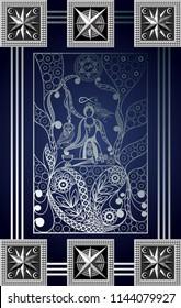Magician Tarot Card Images, Stock Photos & Vectors | Shutterstock