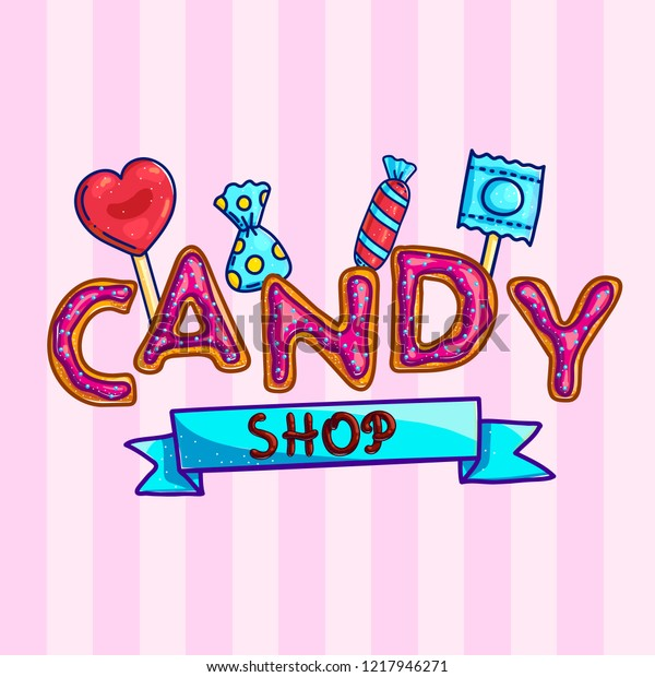 I Like Candy graphic design