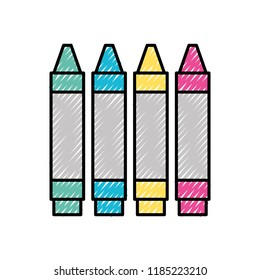 graphic design colors crayons pencil draw