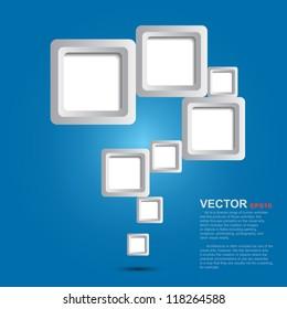 Graphic design template , Creative background.