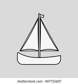 Graphic design of transportation , vector illustration