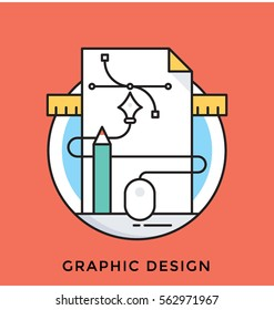 Graphic Design Vector Icon