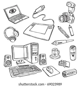 Camera Sketch Images, Stock Photos & Vectors | Shutterstock