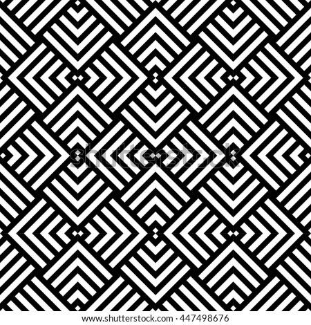 graphic geometric pattern black white stock vector royalty free