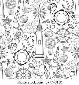 Nautical Coloring Pages Hd Stock Images Shutterstock