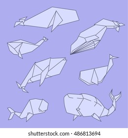 Easy Origami Whale - Paper Crafts for Kids - Red Ted Art - Make crafting  with kids easy & fun | 280x260