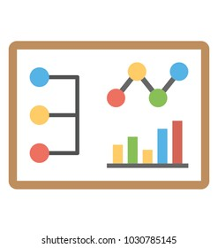 Graphical presentation, analytical report