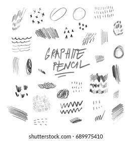 Graphite pencil elements