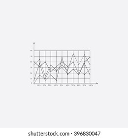 Graphs Icon Vector.