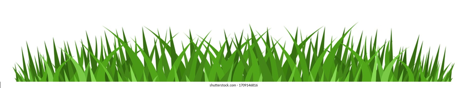 grass vector images stock photos vectors shutterstock https www shutterstock com image vector grass borders icon vector illustration 1709146816