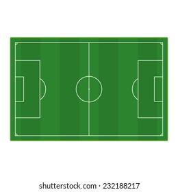 grass football - soccer field. Vector EPS 10
