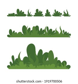 Grass Vector illustration, simple and trendy with flat design