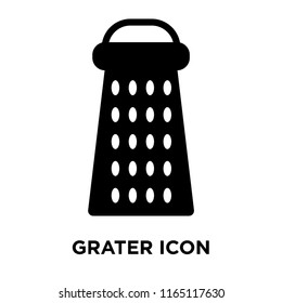 Grater icon vector isolated on white background, Grater transparent sign , food symbols
