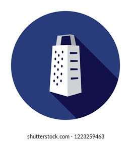 Grater icon. Vector grater icon. Isometric grater. Greater isolated. Kitchen equipment.