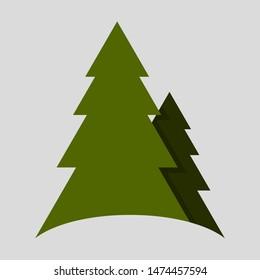 Gratis Cartoon Kerstboom Vector Set - Download gratis vectorkunst en andere vectorafbeeldingen