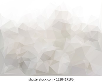 Gray abstract polygonal vector background