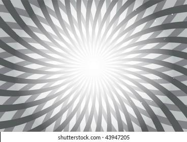 Gray abstract shapes