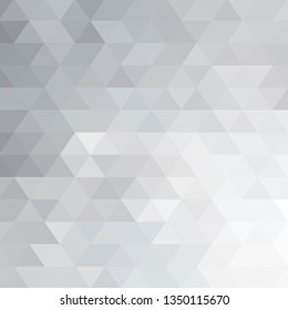 gray abstract triangle. geometric design. layout for presentation