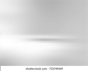 Gray background gradient - soft blurred subtle horizon