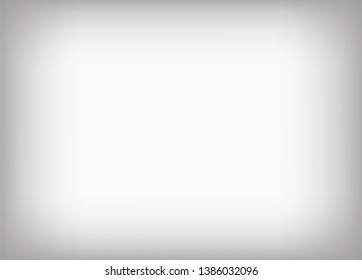 Gray background with gradient. Studio background. Vector illustration