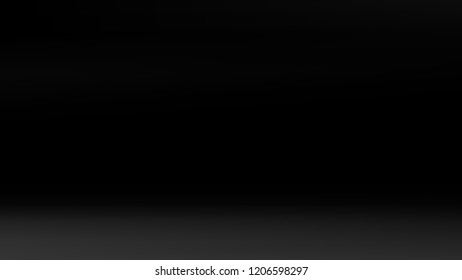 Gray black gradient silver backdrop. Pastel future element. Modern black gradient cover. Foil holographic design. Dark soft gradient. Technology background. Simple grey metallic pattern. Monochrome.