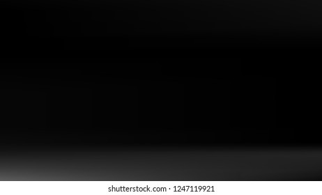 Gray black gradient silver backdrop. Pastel future element. Modern black gradient cover. Foil holographic design. Dark soft gradient. Technology background. Simple grey metallic pattern. Monochrome.