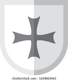 Bolnisi Cross – It has four arms of equal length, each widening at the outer end in a hammer shape so that their rims nearly form a circle.