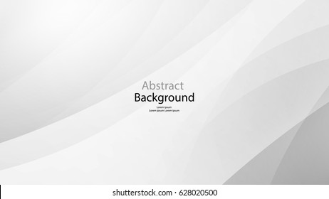 Gray color and white color and black color background abstract art vector