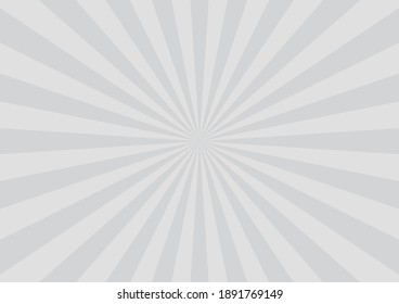 Gray Comic Concentrated Line Vector illustration