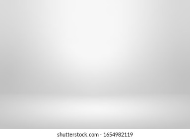 Gray empty room studio gradient used for background and display your products - Vector