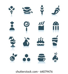 Gray food  icons, part 3