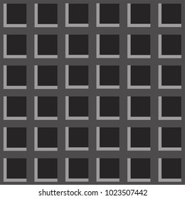 Gray grid with inset -repeatable pattern