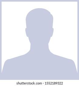 gray picture profil icon square design vector