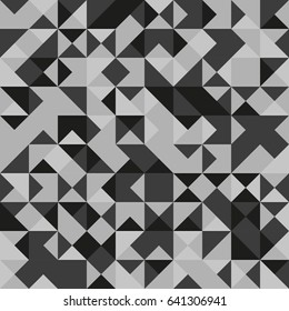 gray scale triangle pattern background