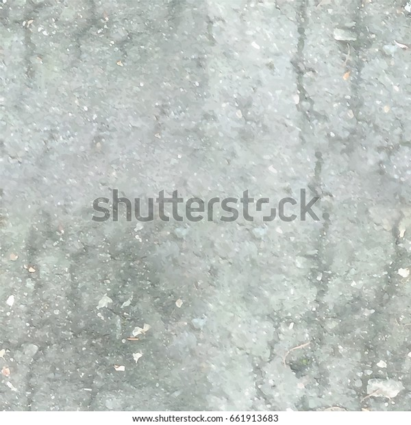 Gray seamless texture of asphalt with cracks. Texture for decoration works.