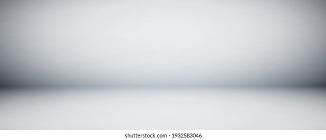 Gray studio wall and floor background. Use as montage for product display