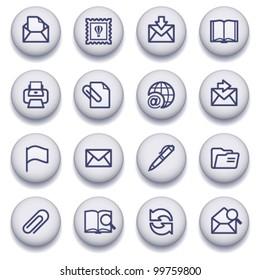 Gray symbols for web 2