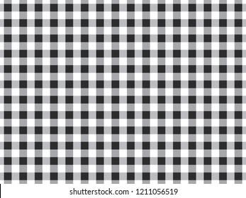 Gray Tablecloth Monochrome Seamless Pattern Background