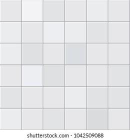 Gray tiles texture. Abstract gray vector background