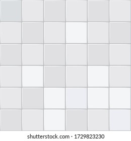 Gray tiles texture. Abstract vector background