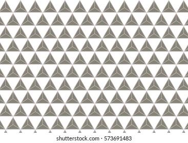 Gray traingle pattern texture background.