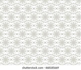 Gray Tunnel Flower Pattern