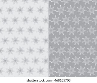 Gray Tunnel Star Pattern