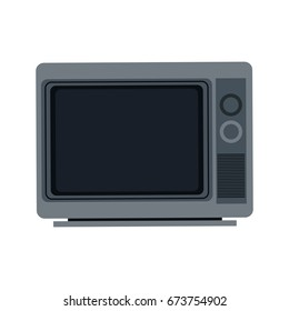 gray tv screen broadcast classic appliance