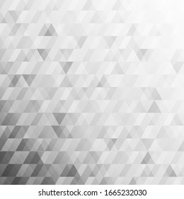 Gray vector polygon abstract geometric triangle background. Vector illustration for your business design templates.