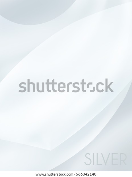 Gray Wallpaper Abstract Blurred Silver Background Stock Vektorgrafik