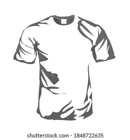 gray waterfall t-shirts are very suitable to be used as material for t-shirt images